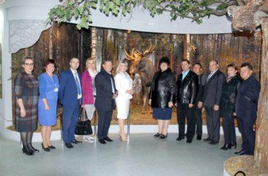 Кличевский краеведческий музей   встретил   гостей   из   Сальского района  Ростовской области